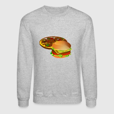 pizza pizzeria food essen restaurant56 - Crewneck Sweatshirt