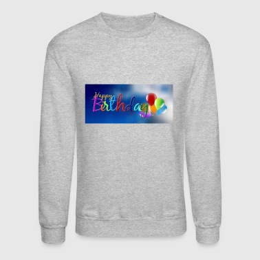 birthday - Crewneck Sweatshirt