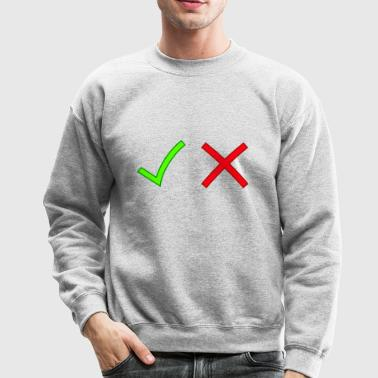 check - Crewneck Sweatshirt