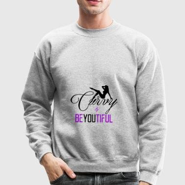 Curvy N BeYouTiFul - Crewneck Sweatshirt
