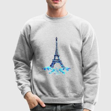tower on ice - Crewneck Sweatshirt
