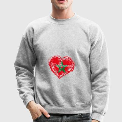 HOME ROOTS COUNTRY GIFT LOVE Morocco - Crewneck Sweatshirt