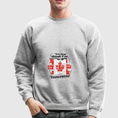 URLAUB HOME ROOTS TRAVEL Kanada Canada Vancouver - Crewneck Sweatshirt