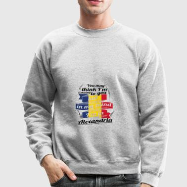 URLAUB Rumaenien ROOTS TRAVEL I M IN Romania Alexa - Crewneck Sweatshirt