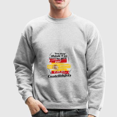 URLAUB Spanien espanol TRAVEL I M IN Spain Castell - Crewneck Sweatshirt