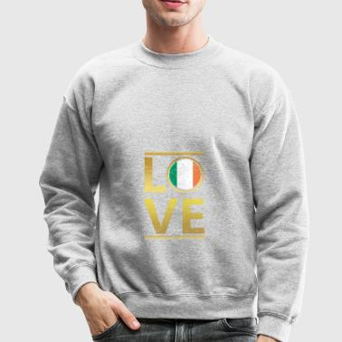 roots love home geschenk queen Irland - Crewneck Sweatshirt