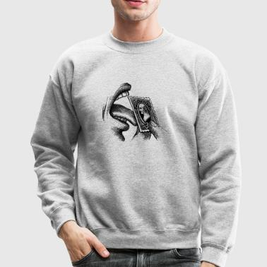stamp licking good - Crewneck Sweatshirt