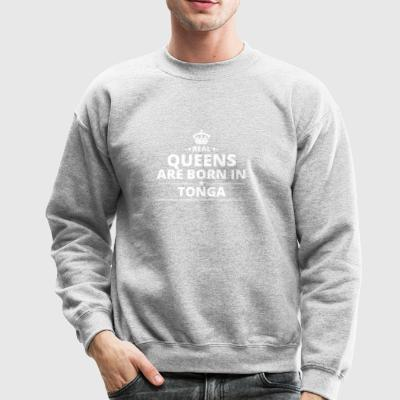 LOVE GESCHENK queens born in TONGA - Crewneck Sweatshirt