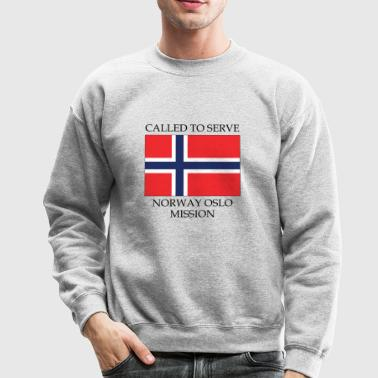 Norway Oslo LDS Mission Called to Serve Flag - Crewneck Sweatshirt