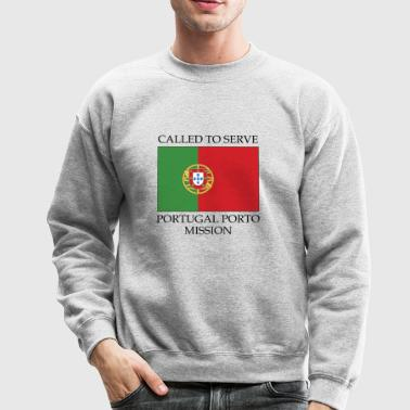 Portugal Porto LDS Mission Called to Serve Flag - Crewneck Sweatshirt