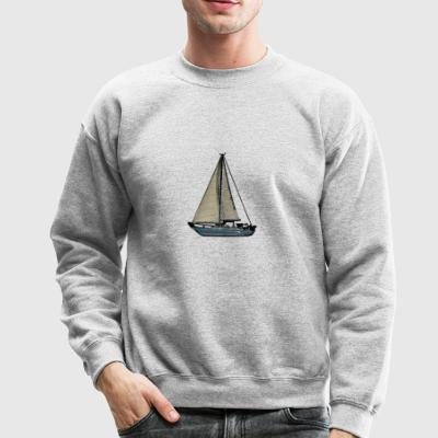 Comic Sailboat - Crewneck Sweatshirt