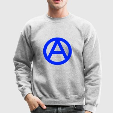 1200px Anarchy symbol svg - Crewneck Sweatshirt