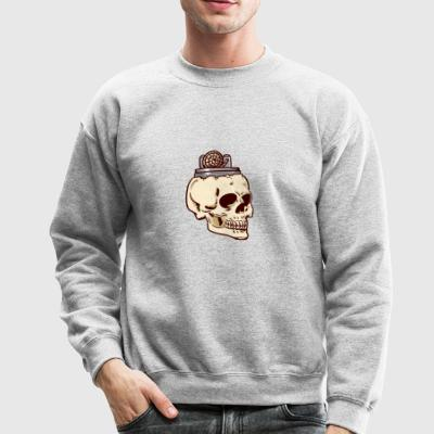 Vaping Skull Shirt - Crewneck Sweatshirt