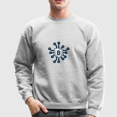 bitcoin network - Crewneck Sweatshirt