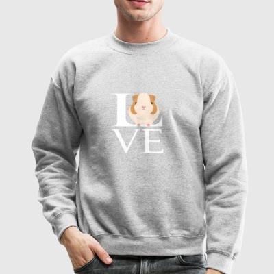 Love Guinea Pigs Funny Animal Lover - Crewneck Sweatshirt