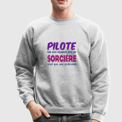 Witch Pilot - Crewneck Sweatshirt