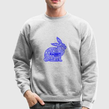 GIFT - RABBIT BLUE - Crewneck Sweatshirt