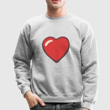 Heart - Love - Crewneck Sweatshirt