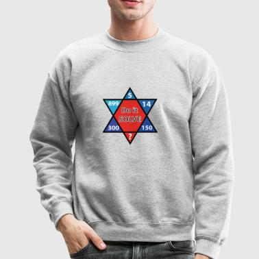 Do it solve Funny Math calculating Tees - Crewneck Sweatshirt