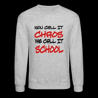 school - Crewneck Sweatshirt