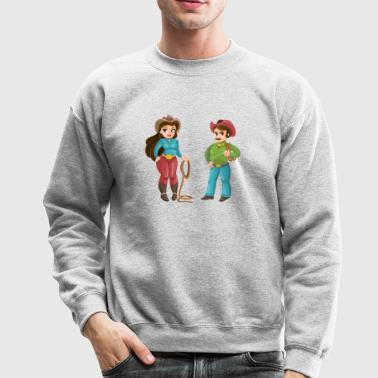 WESTERN COUPLE - Crewneck Sweatshirt