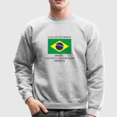 Brazil Sao Paulo Interlagos LDS Mission Called - Crewneck Sweatshirt