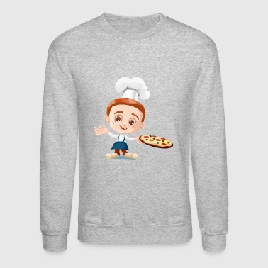 pizza pizzeria food essen restaurant5 - Crewneck Sweatshirt
