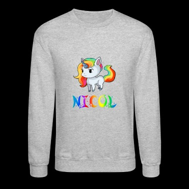 Nicol Unicorn - Crewneck Sweatshirt