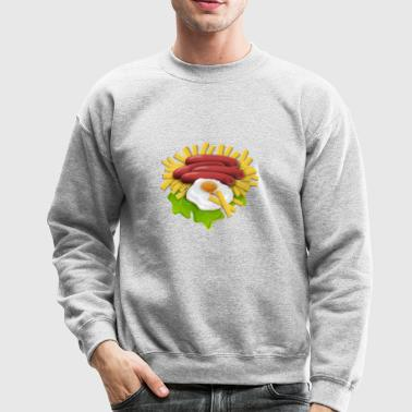 Fries And Eggs - Crewneck Sweatshirt