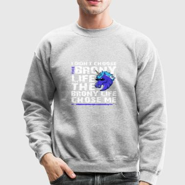 Shop The Brony Life Design - Crewneck Sweatshirt