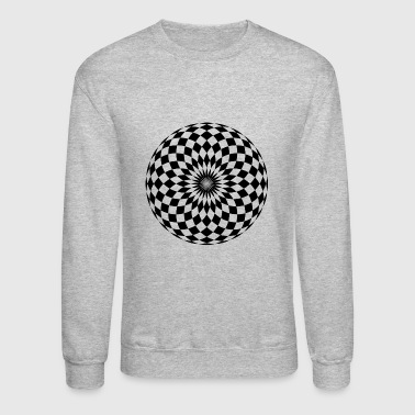 Checkerboard - Crewneck Sweatshirt