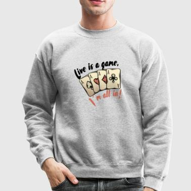 Poker - Crewneck Sweatshirt