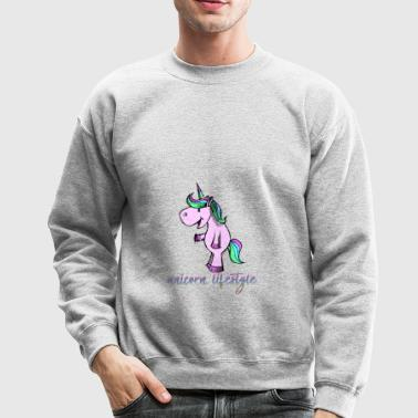 unicorn lifestyle - Crewneck Sweatshirt