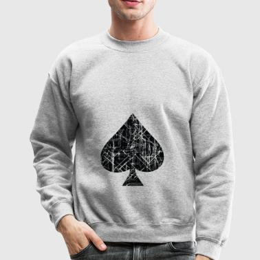 Spades Sign Design - Crewneck Sweatshirt