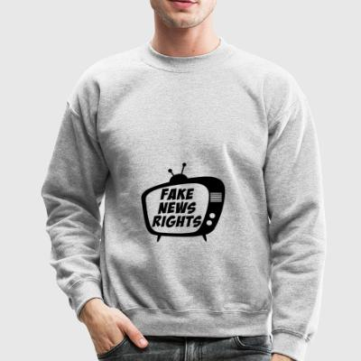 Fake News Rights | Stop Spreading Fake News - Crewneck Sweatshirt