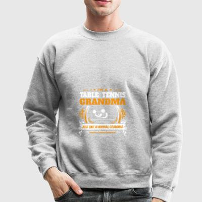 Table Tennis Grandma Shirt Gift Idea - Crewneck Sweatshirt