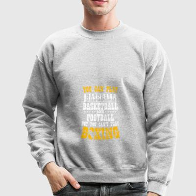 Shirt for boxing lover as a gift - Crewneck Sweatshirt