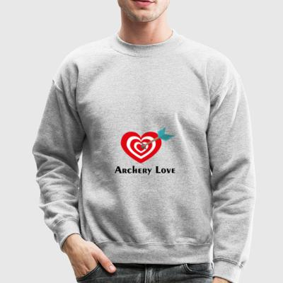 Archery love - Crewneck Sweatshirt