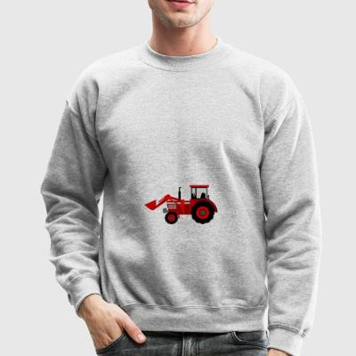 Cute Funny Cute tractor Comic Drawing T-Shirt - Crewneck Sweatshirt