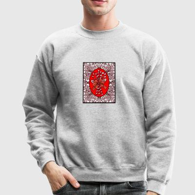 Candy Canes in Frame - Crewneck Sweatshirt