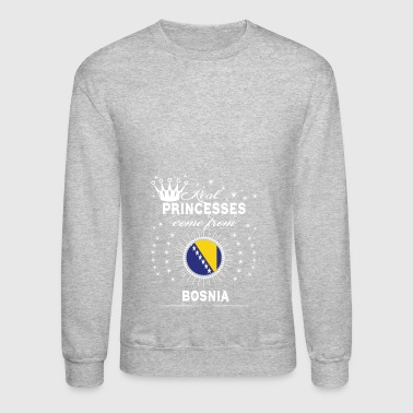 queen love princesses BOSNIA - Crewneck Sweatshirt