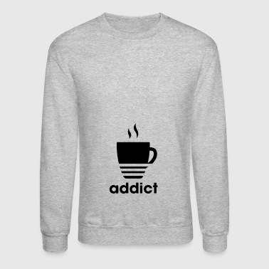 addict - Crewneck Sweatshirt