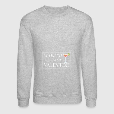 Martini Date gift for Martini Lovers - Crewneck Sweatshirt