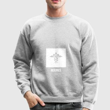 Hermes | Greek Mythology God Symbol - Crewneck Sweatshirt