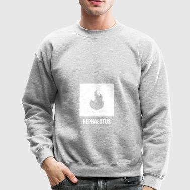 Hephaestus | Greek Mythology God Symbol - Crewneck Sweatshirt