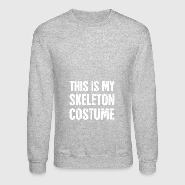 Skeleton Costume | Halloween Costume Party - Crewneck Sweatshirt