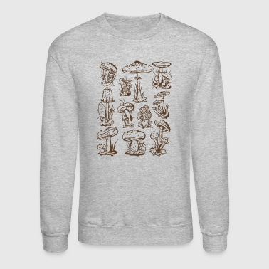 Mushrooms - Crewneck Sweatshirt