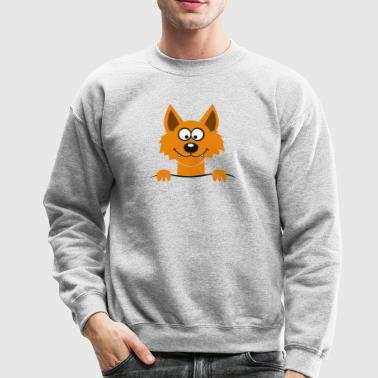 Cute Freaky Fox - Crewneck Sweatshirt