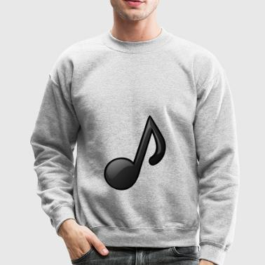 Music Note Musical Notes Instrument Gift Present - Crewneck Sweatshirt
