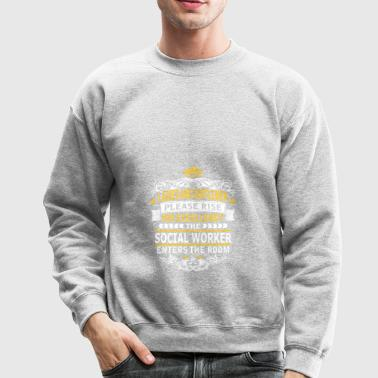 SOCIAL WORKER - Crewneck Sweatshirt